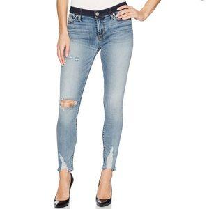 Hudson Jeans Nico Crop Super Skinny Jeans Size 25